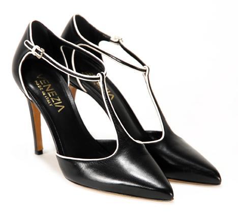 10c25c9cc2248 Czarne obuwie Venezia - trendy wiosna/lato 2011 - Buty i torebki ...