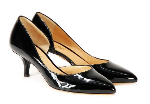 czarne pantofle Venezia - trendy wiosna-lato