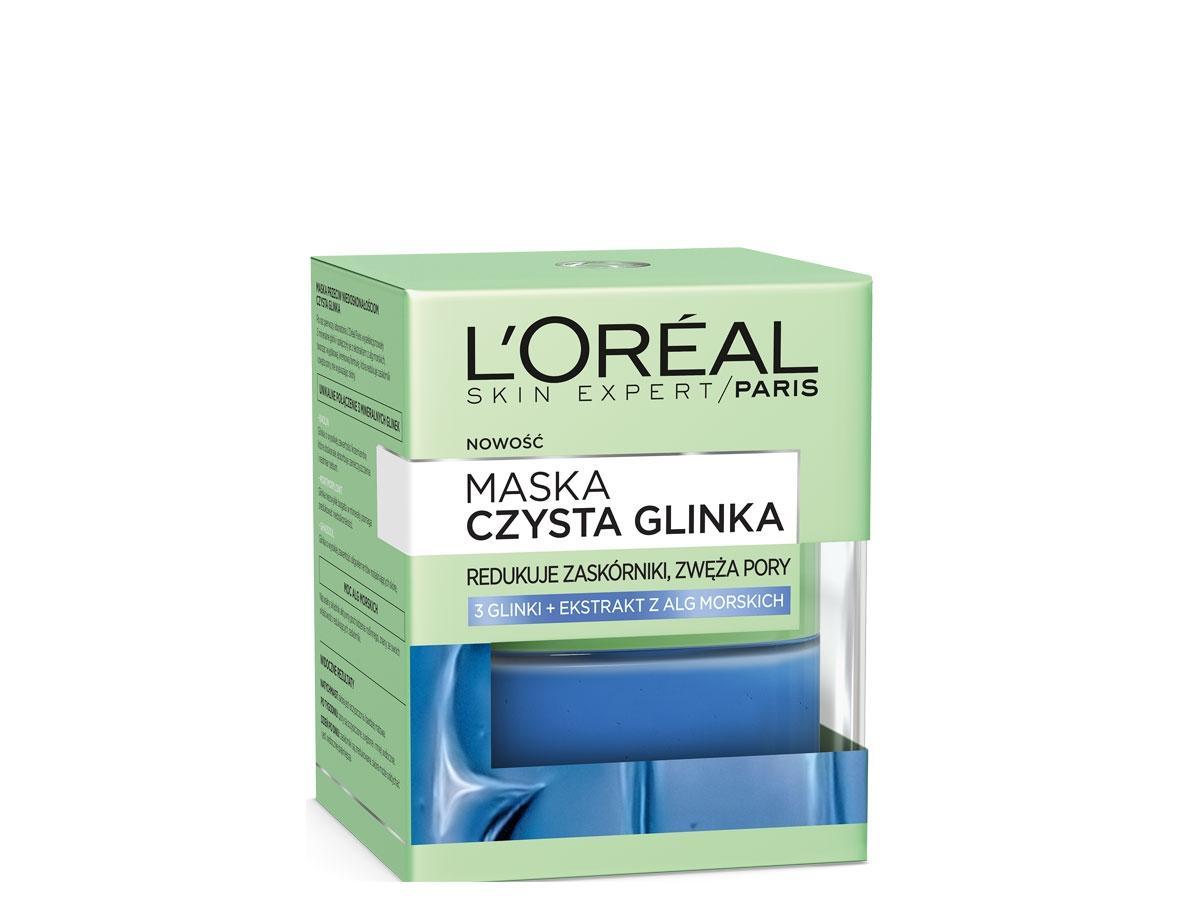 Maska przeciw niedoskonałościom Czysta Glinka, L,Oreal cena