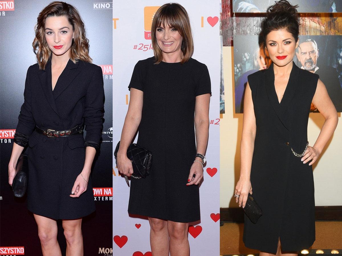 Czarne sukienki do pracy