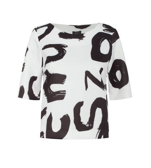 Czarno-białe printy - trend wiosna/lato 2015