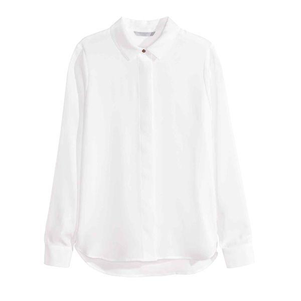 Biała koszula H&M, cena