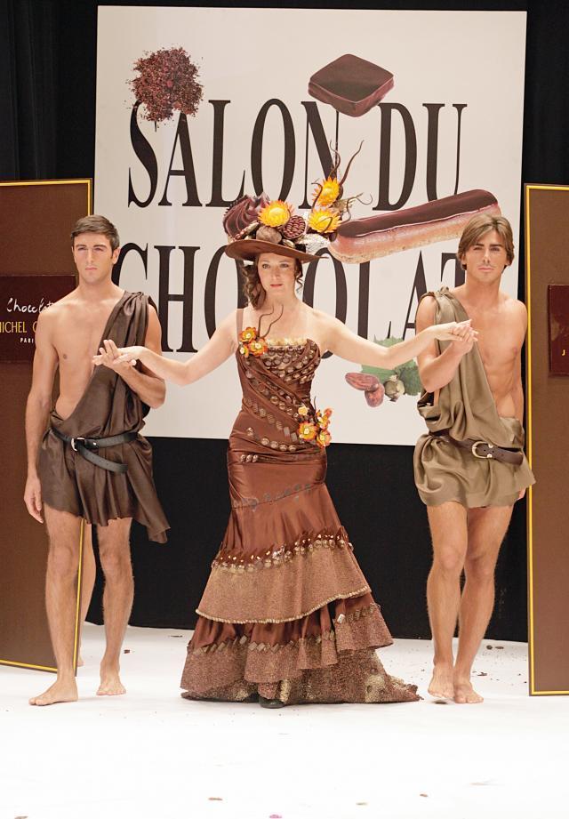Czekoladowy pokaz mody