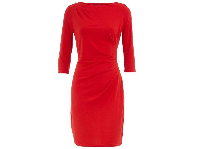czerwona sukienka na sylwestra, Dorothy Perkins