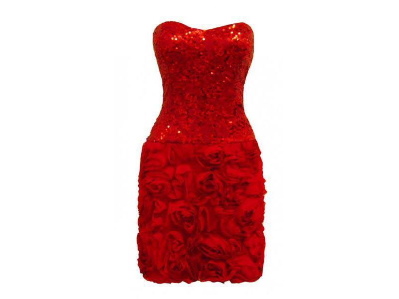 czerwona sukienka na sylwestra, Moshe