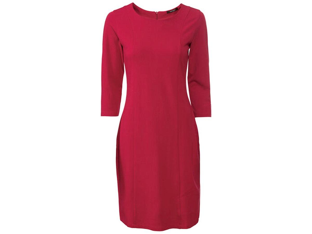 Czerwona sukienka Lidl