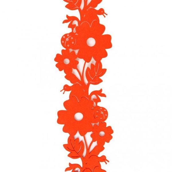 Czerwona dekoracja z filcu, Home&You 19 zł