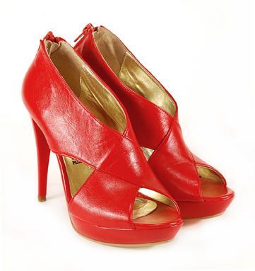 czerwone sandały Venezia - kolekcja letnia