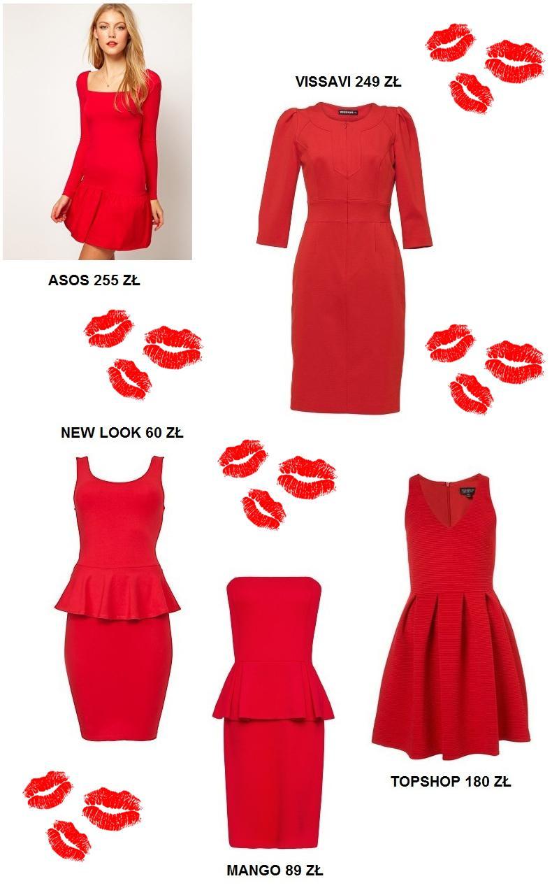 Czerwone sukienki na wyjątkowe okazje Czerwone sukienki na