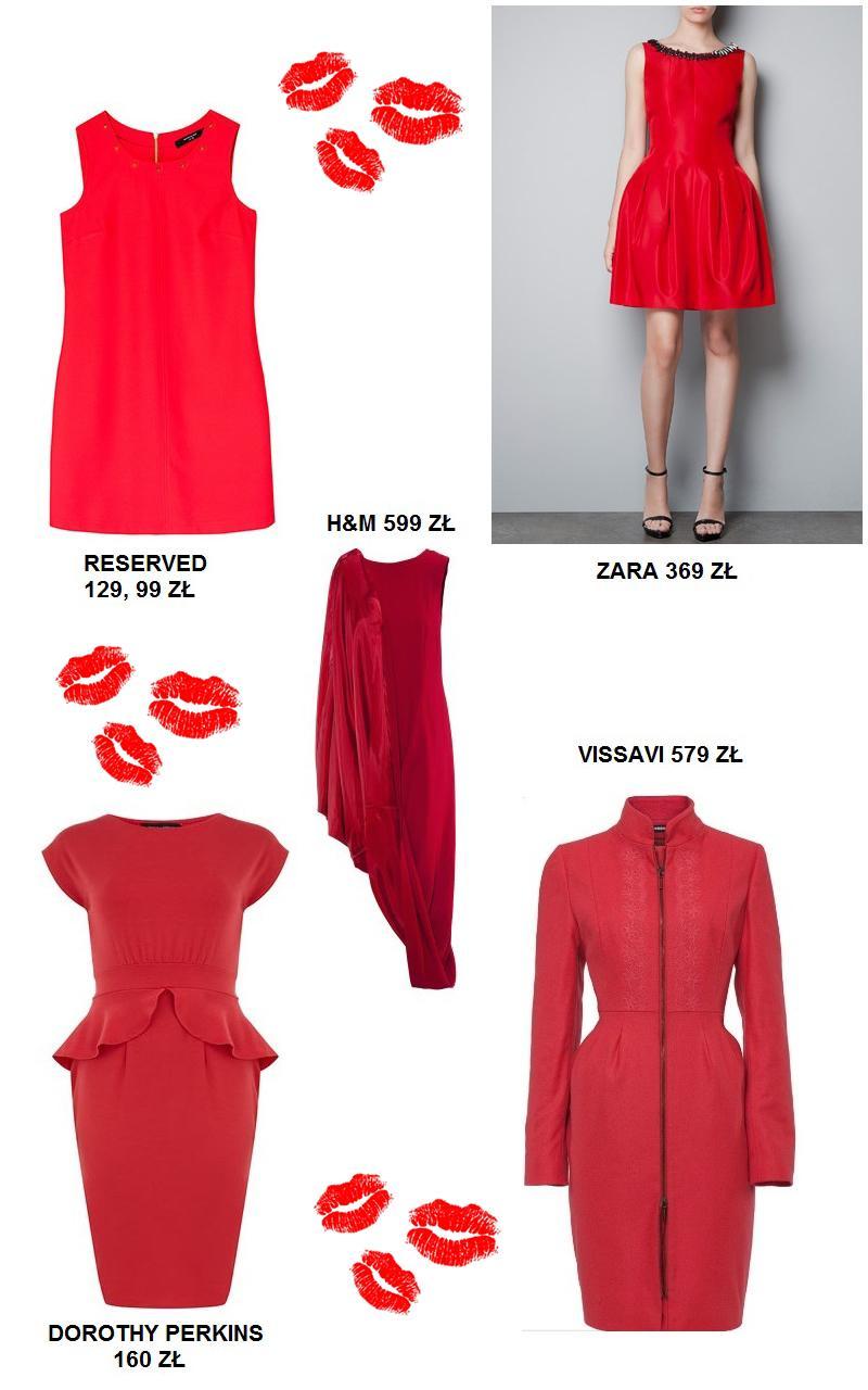 Czerwone sukienki na wyjątkowe okazje