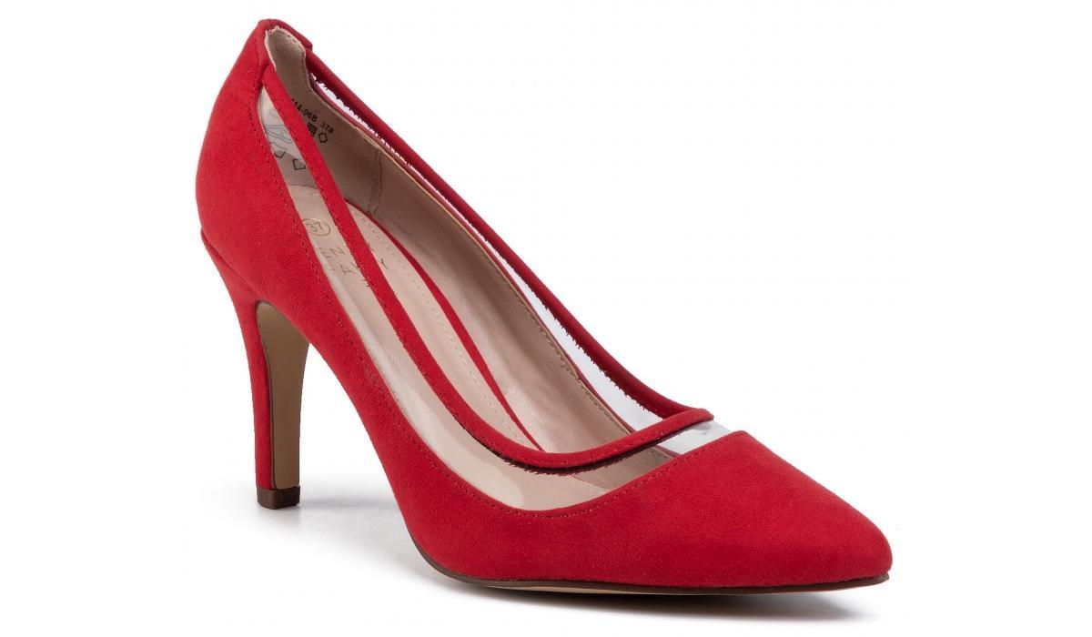czerwone szpilki Jenny Fairy
