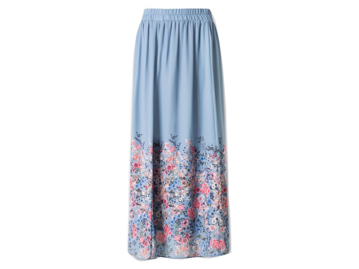 Zupełnie nowe Długa spódnica z kwiatami C&A, cena ok. 129 zł - SPÓDNICE C&A JT57