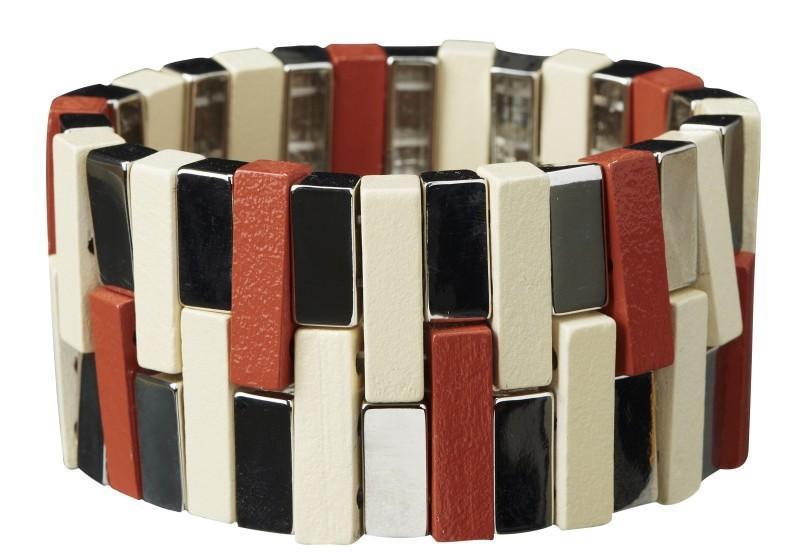 kolorowa bransoletka H&M - lato 2011