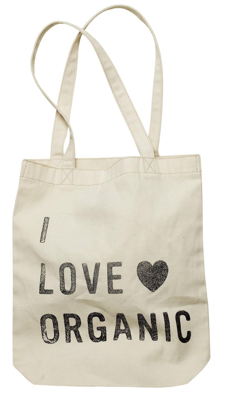 biała torba H&M z nadrukiem - wiosna/lato 2011