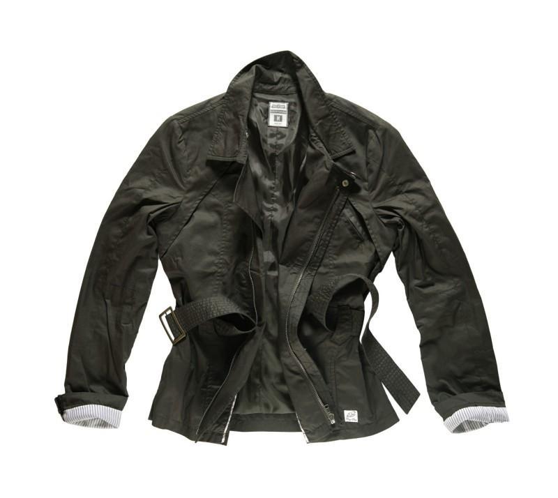 czarna kurtka Big Star - z kolekcji wiosna-lato 2011