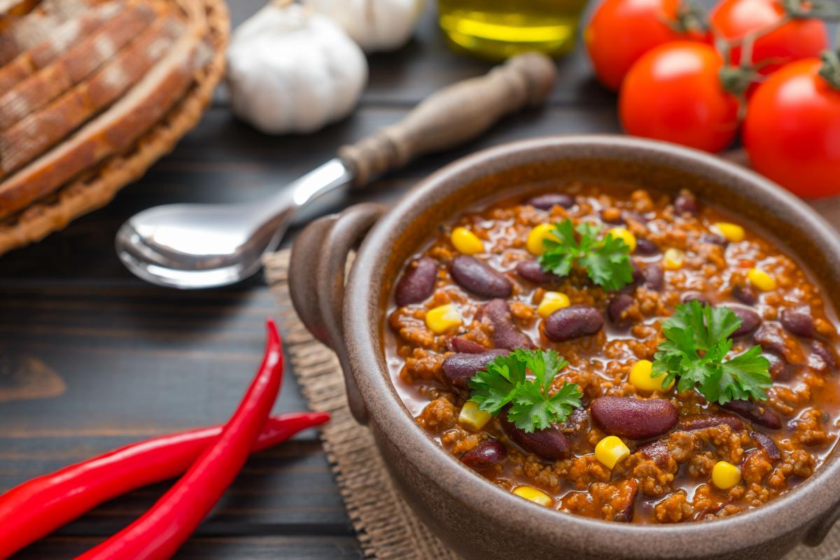 dania na andrzejki - chilli con carne