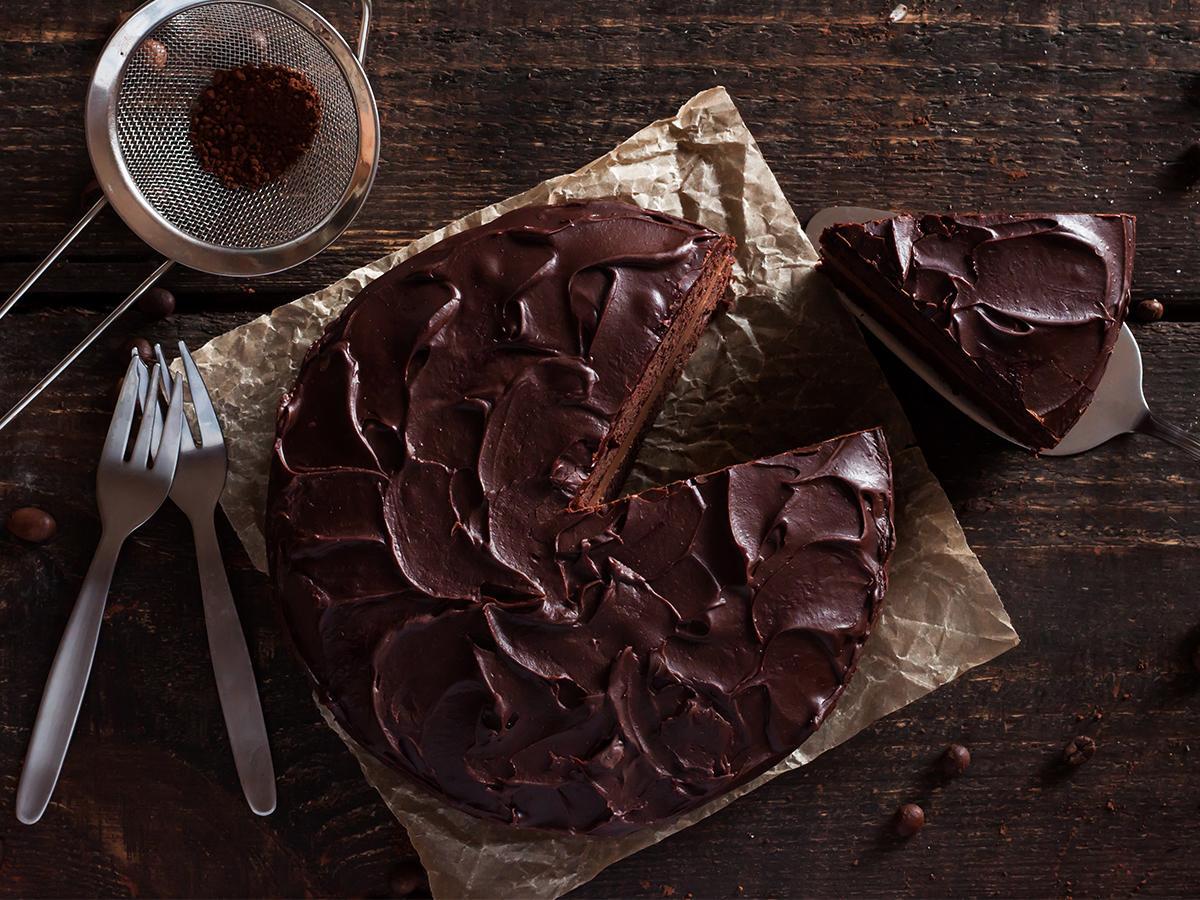 ciasto czekoladowe na imieniny w domu