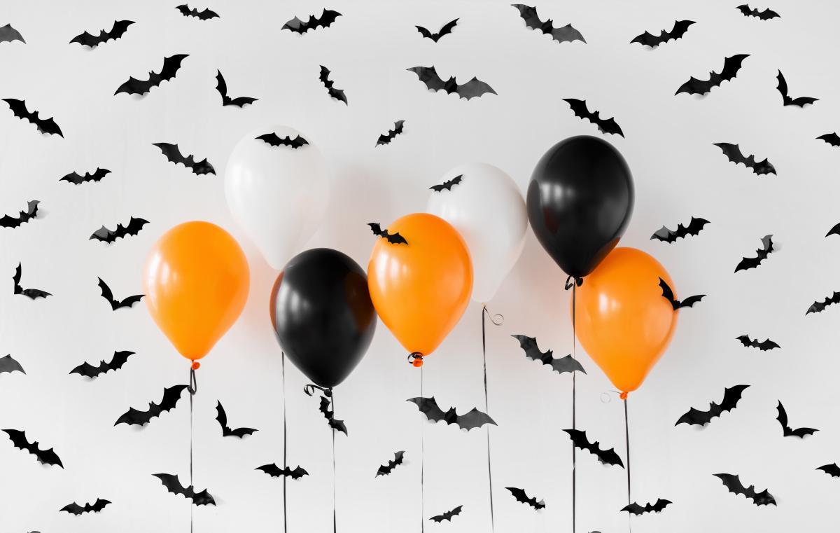 balony na halloween