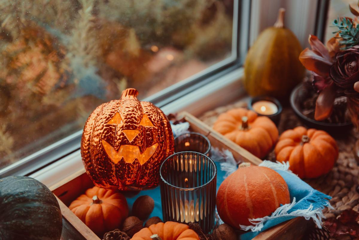 dynie na halloween ozdoby