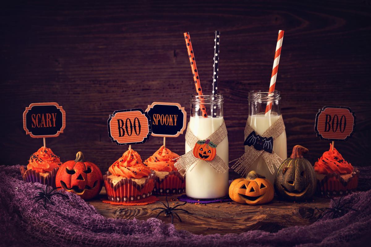 słodycze na halloween