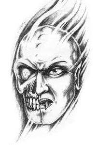 Demony – wzory tatuaży (galeria)