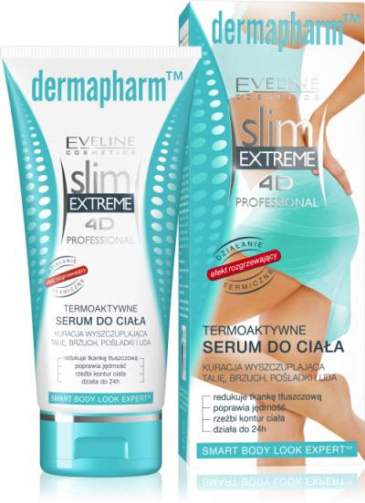 Antycellulitowe, termoaktywne serum do ciała - Eveline Cosmetics