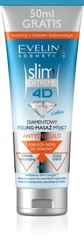 Diamentowy peeling-masaż myjący Antycellulit, Eveline Cosmetics, cena ok 15 zł/ 250 ml