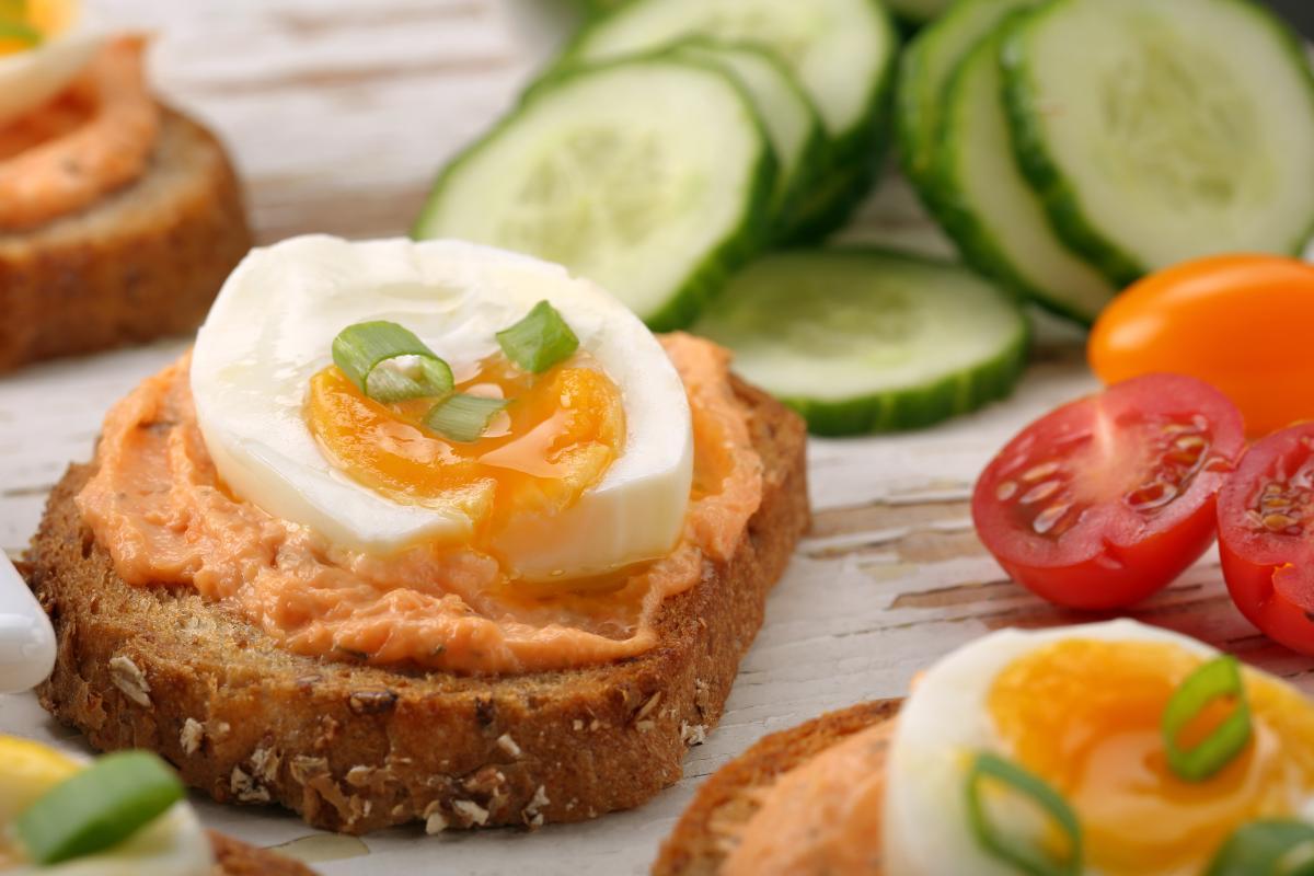 dietetyczna pasta z jajek