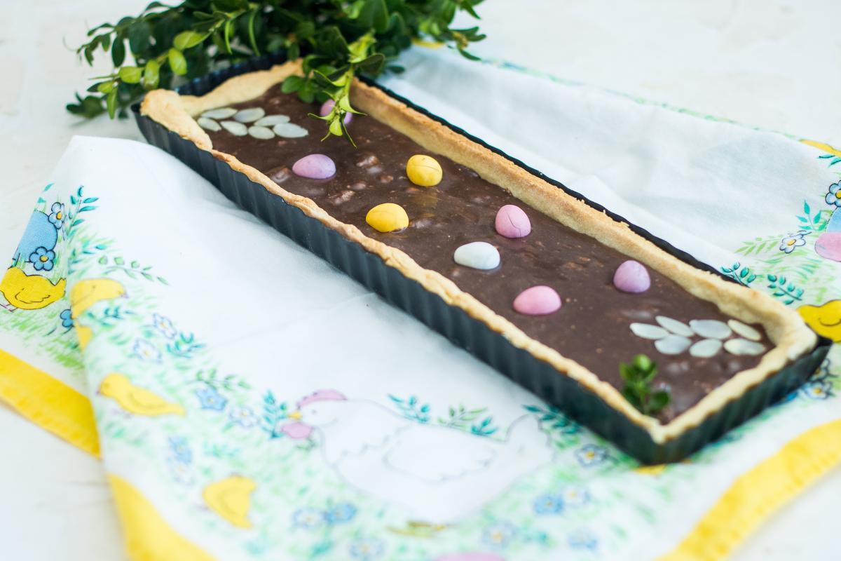 dietetyczny mazurek czekoladowy