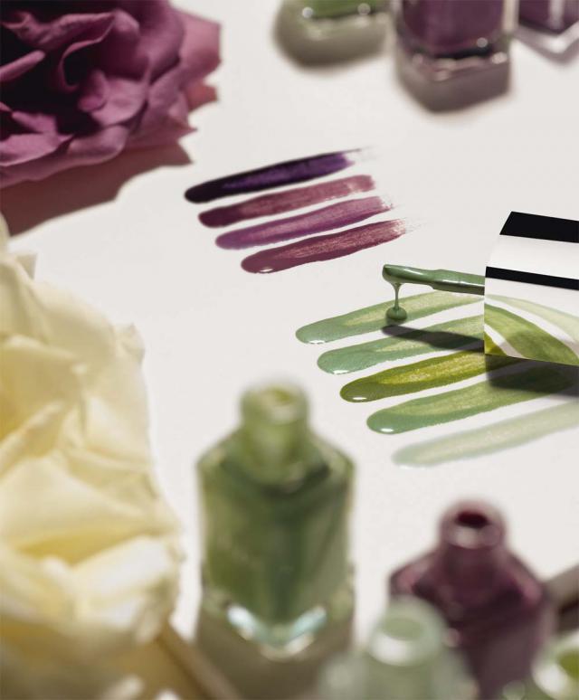 Dior Garden Party, wiosna 2012 - makijaż