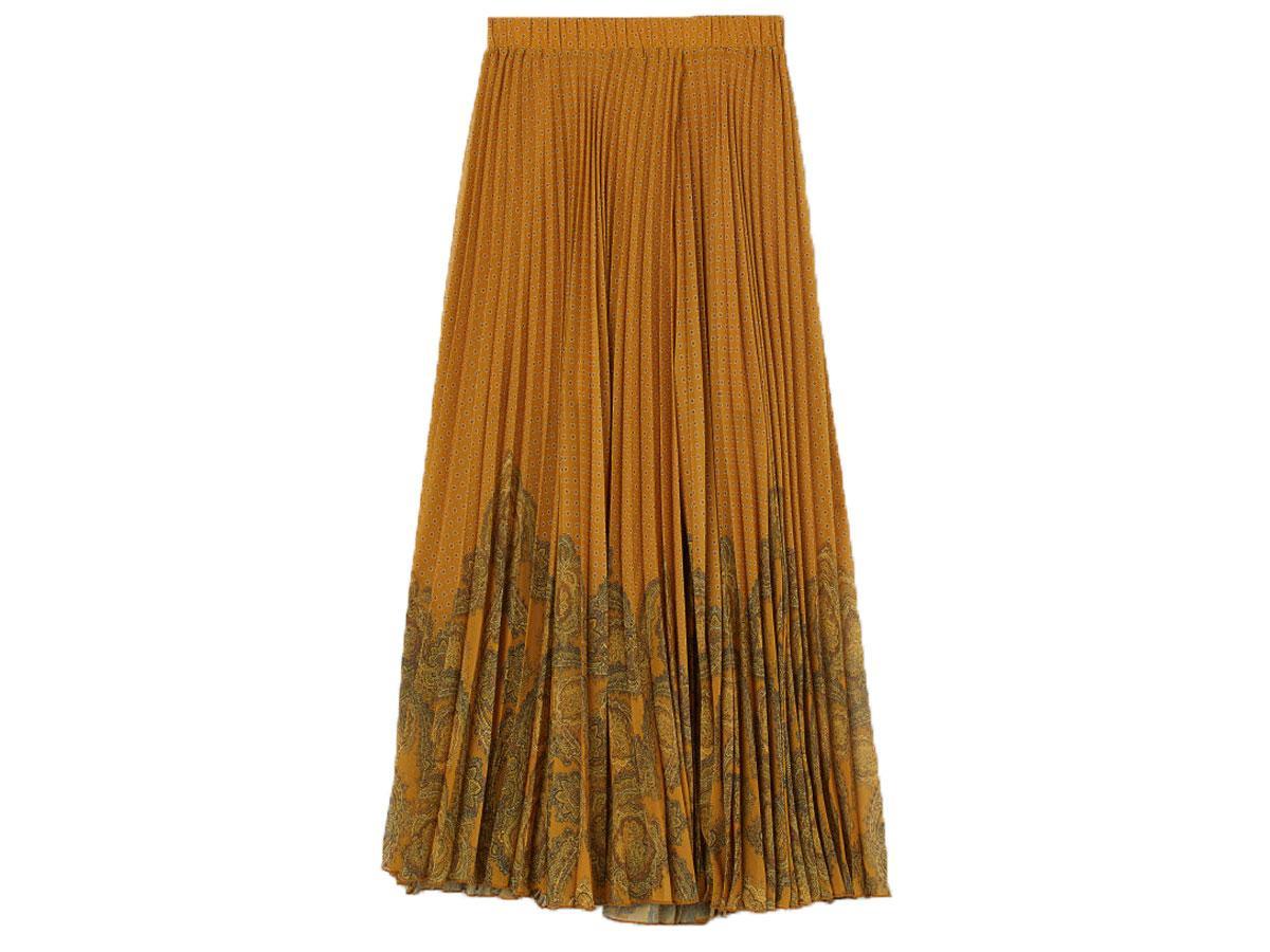 Długa plisowana spódnica H&M
