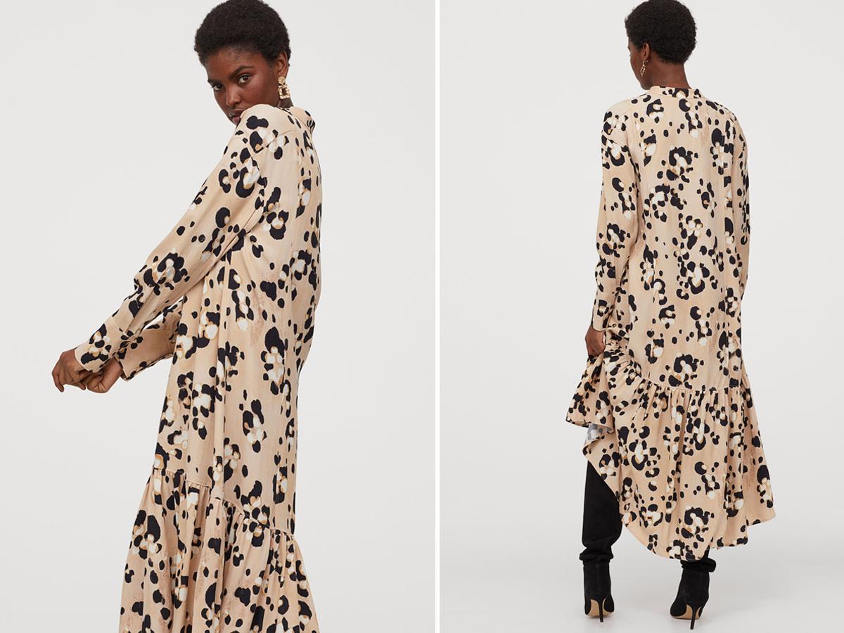 Długa sukienka H&M