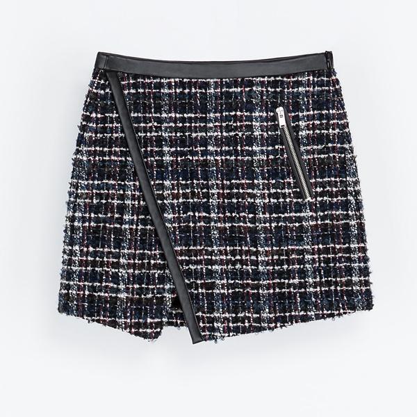 Tweedowa spódnica, Zara