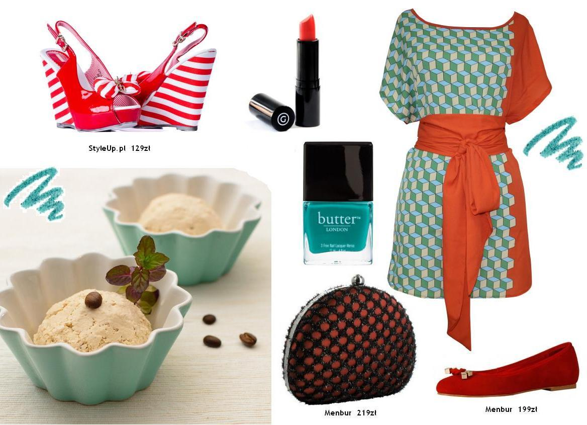 Do lodziarni i kawiarni - 5 stylizacji