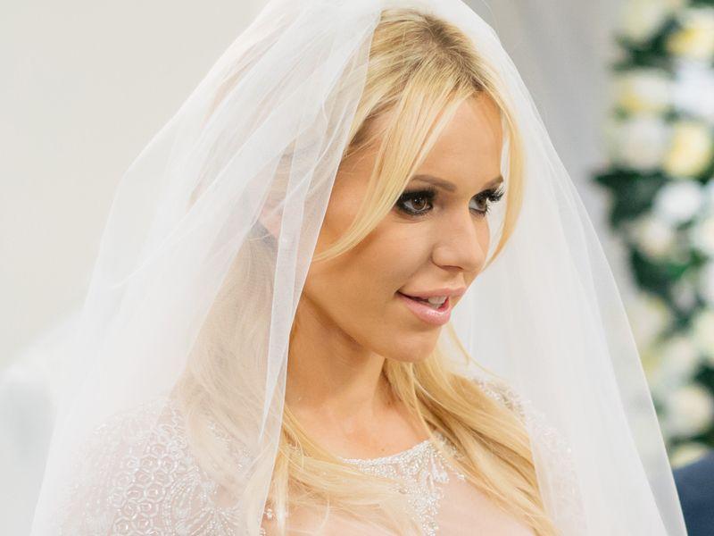Doda w sukni ślubnej, TLC Salon sukien ślubnych, Doda ślub