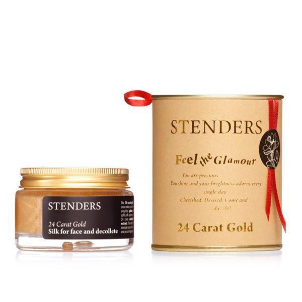 Złoty jedwab do twarzy i dekoltu Stenders, cena