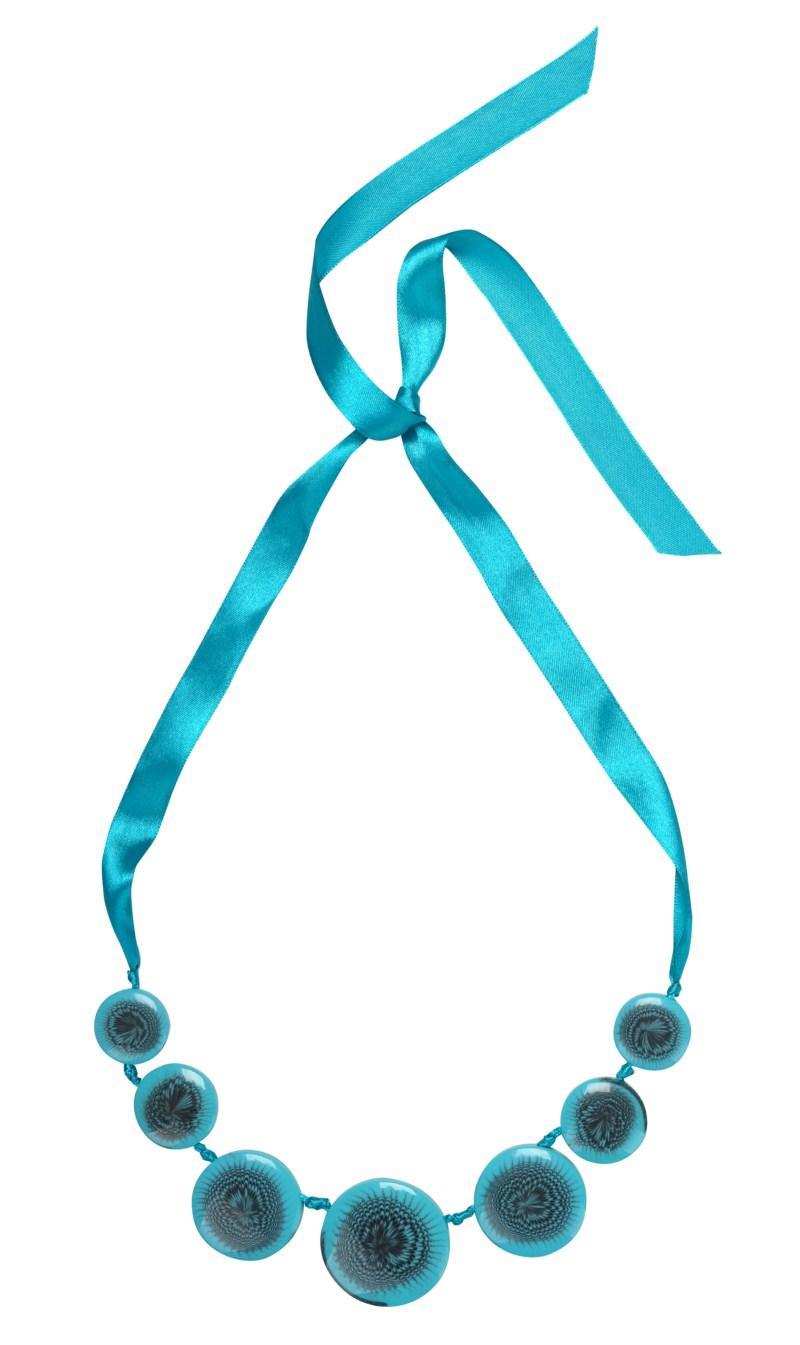 niebieski naszyjnik Tatuum - trendy wiosna-lato