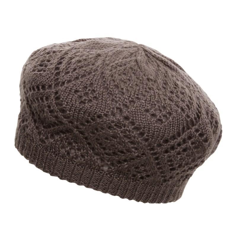 brązowy beret s.Oliver - moda 2010
