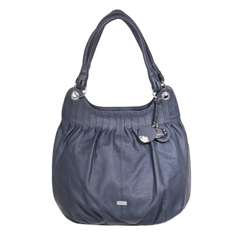 niebieska torebka s.Oliver - trendy zimowe