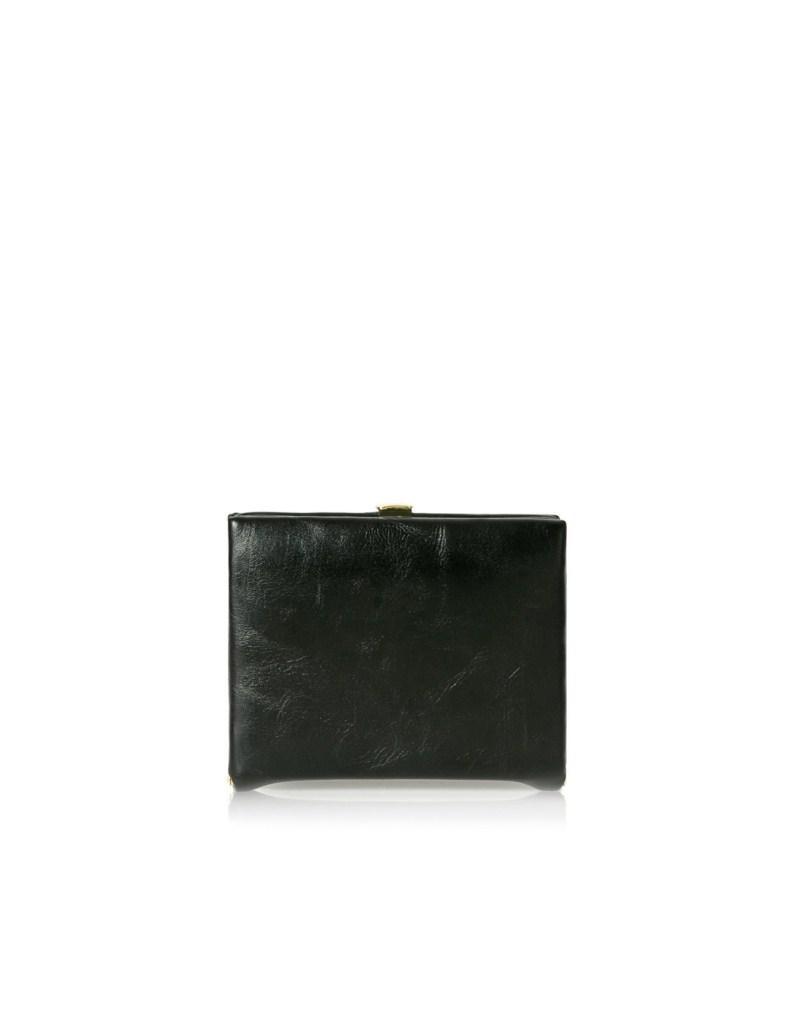 czarny portfel ZARA - wiosenna kolekcja