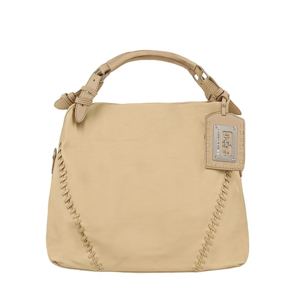 beżowa torebka Pretty Girl ze skóry - moda 2011