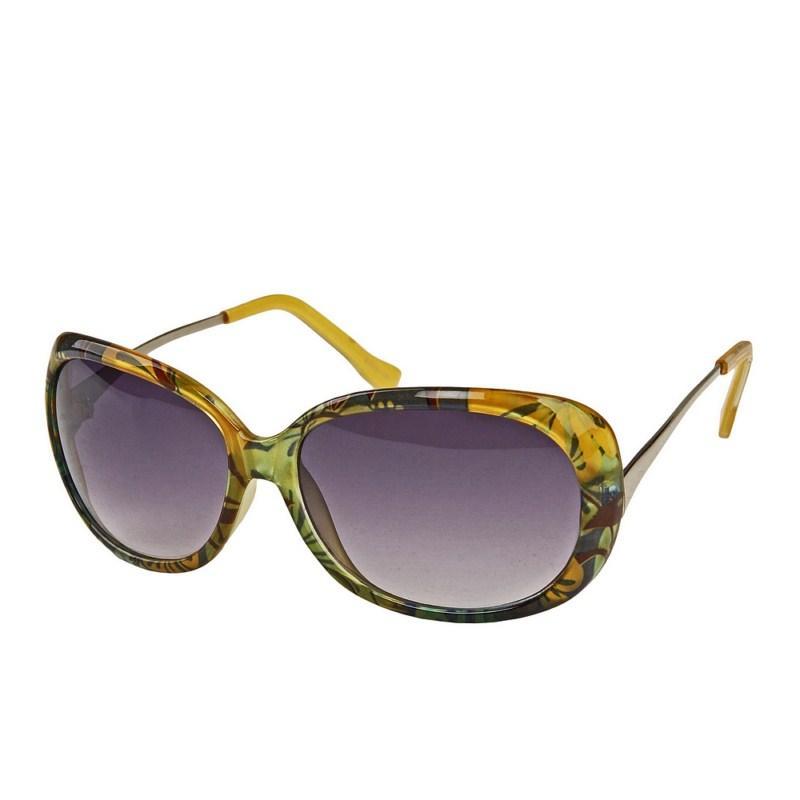 okulary przeciwsłoneczne Pretty Girl w kwiaty - moda 2011