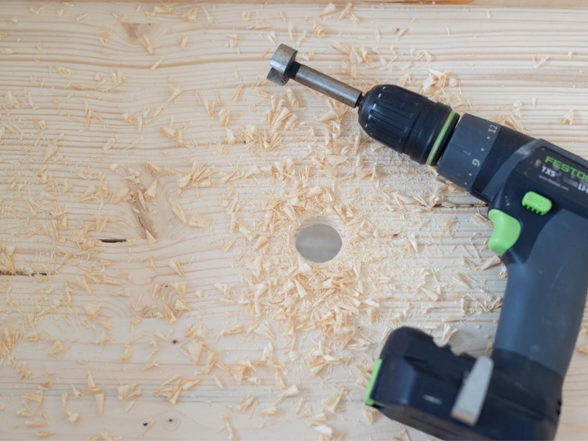 Donica DIY krok 2