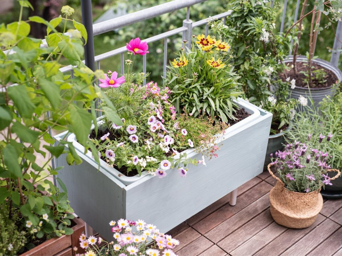 Donica na balkon DIY - krok 4