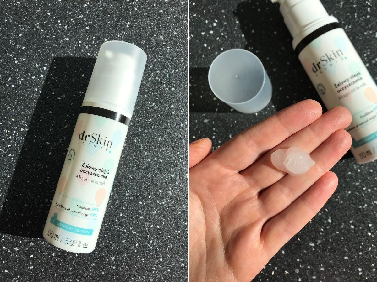 olejek do mycia twarzy Dr Skin Clinic