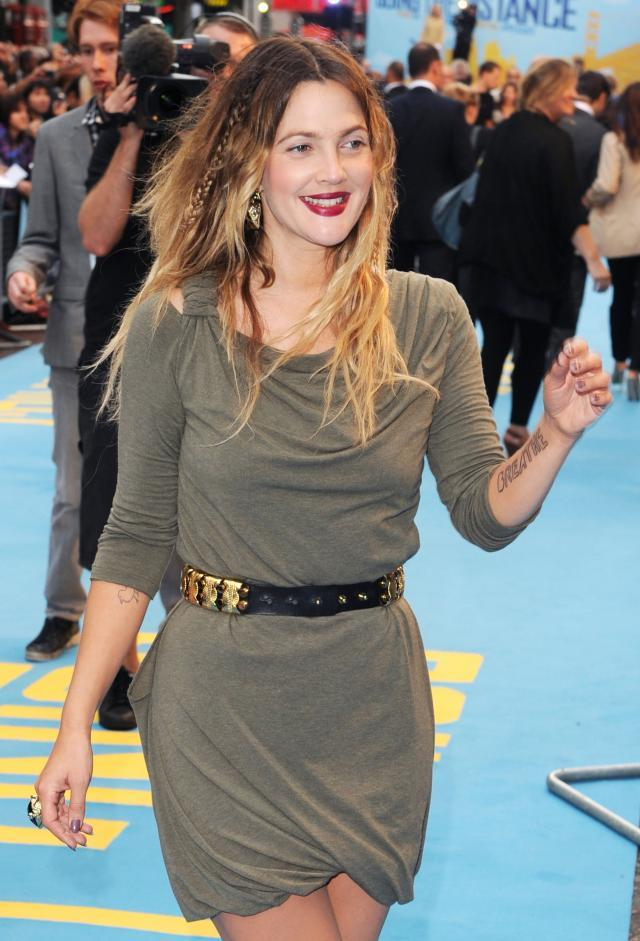 """Drew Barrymore na premierze """"Going the Distance"""""""