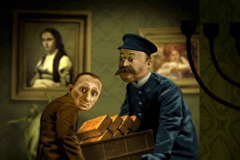 Dwa Rembrandty w ogrodzie (reż. Jerzy Śladkowski)
