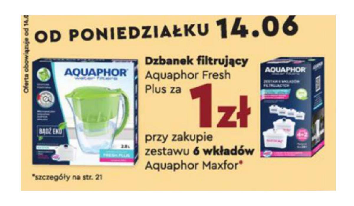 Dzbanek Biedronka Aquaphor