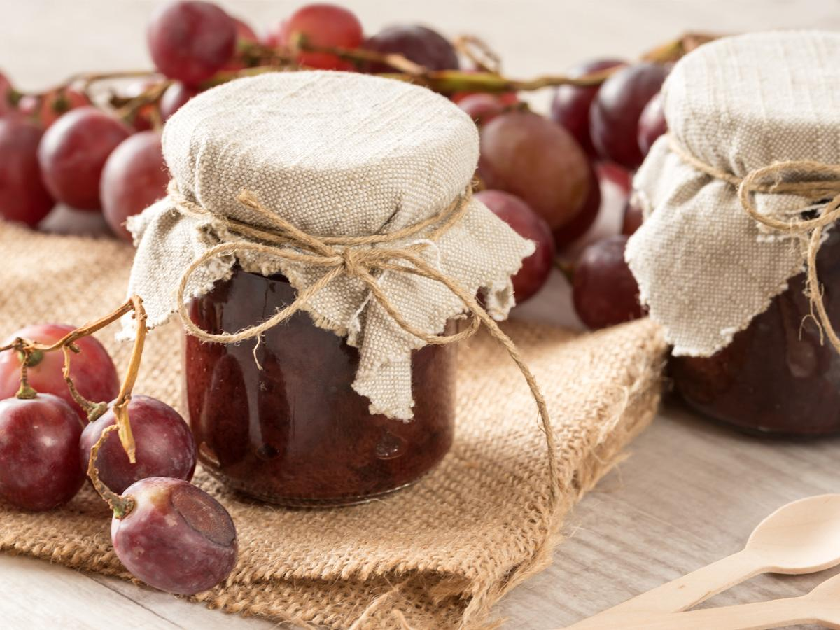 co zrobić z winogron przepisy