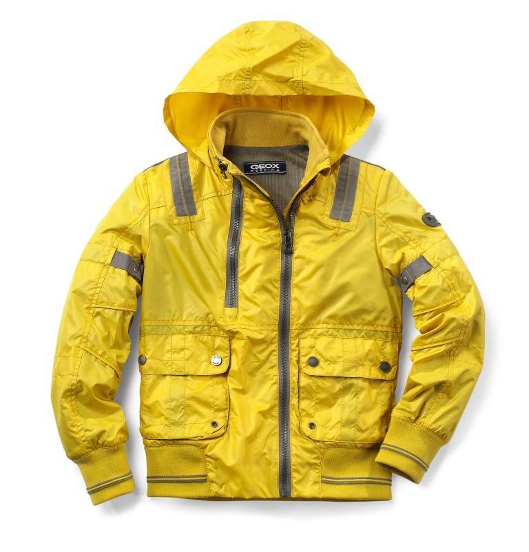 żółta kurtka Geox - kolekcja wiosenno/letnia